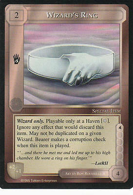 Wizard´s Ring Middle Earth The Wizards CCG bb Lim. Edition Mint/N.Mint 1995 ME51