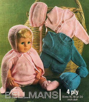 Doll Clothes Knitting Patterns For 16 20 Inch Doll 199