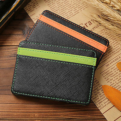MAGICO Portafoglio Banconote Carte DI Credito Magic Wallet Cash Holder Unisex