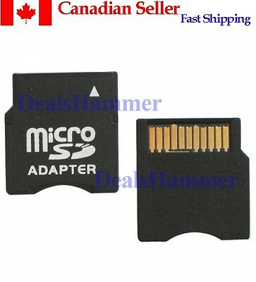 Micro SD, T-Flash to Mini SD Memory Card Adapter Canada Fast Shipping