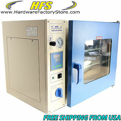 """HFS Brand 1.9 Cu Ft.16X14X14"""" LAB Vacuum Oven Degassing Drying Oven 215F Herbal"""