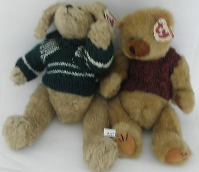 A47 TY Attic Treasures Spencer & Clyde with Sweaters