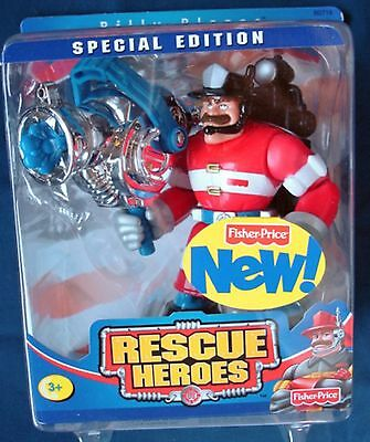 Fisher Price Rescue Heroes Special Edition Billy Blazes  NIP