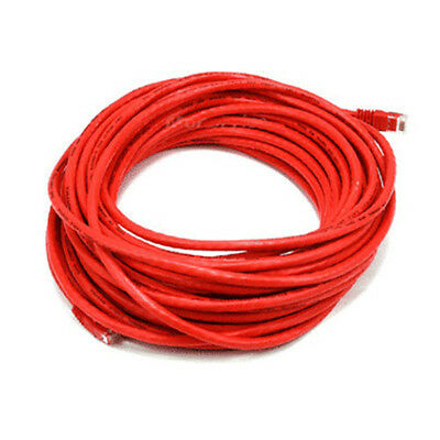 50FT Red High Quality Cat6 550MHz UTP RJ45 Ethernet Bare Copper Network Cable
