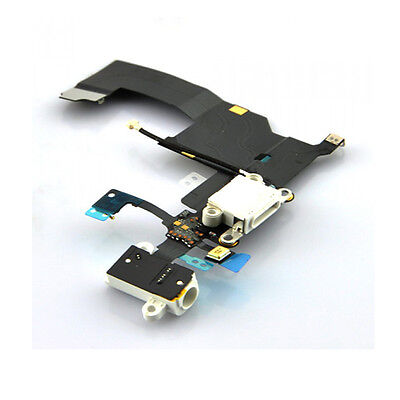 iPhone 4 5,6  Brand New Black wht Charging Port Charge USB Connector Flex Cable