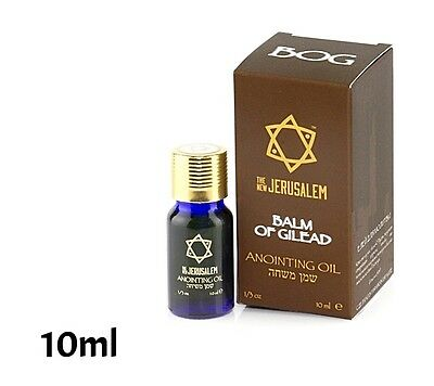 Anointing Oil Balm of Gilead Fragrance 10ml. From Holyland Jerusalem