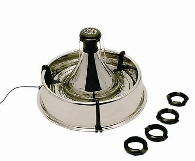 Drinkwell 360 Pet Cat Dog Water Fountain, Stainless Steel - Buy New