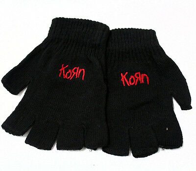Korn Metal Band Fingerless Gloves