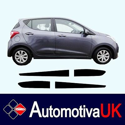Hyundai i10 5D Rubbing Strips | Door Protectors | Side Protection Mouldings