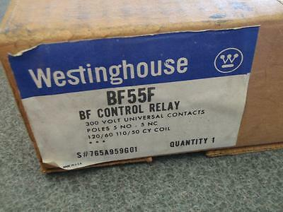 Westinghouse Bf55F Relay *New In Box*