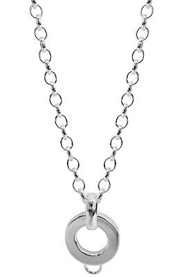 Trendor Jewellery Silver Charms Necklace 63058
