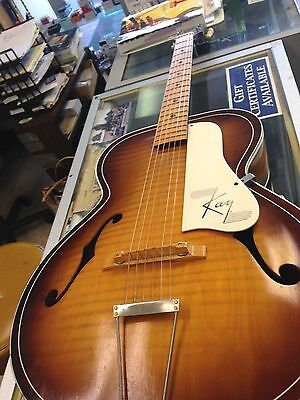 Vintage Kay Archtop Acoustic Guitar 6 string L Series Arch top