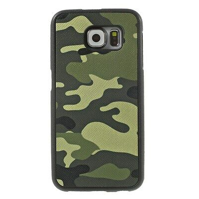 Samsung Galaxy S6 G920 TPU Case Camouflage Muster Schutz Hülle Cover Military
