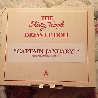 Captain January Outfit for Shirley Temple Dress Up Doll, Danbury Mint, MIB