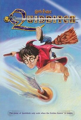 "Harry Potter and The Sorcerer's Stone - RARE Mead ""Quidditch #2330"" Poster - NEW"