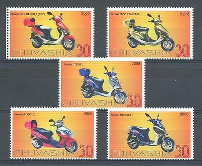 (012933) Motorcycle, Chuvashia - private issue -