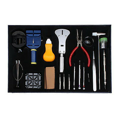20 Pieces Watch Repair Tool Kit Set Pin Strap Remover Battery Replacement Opener