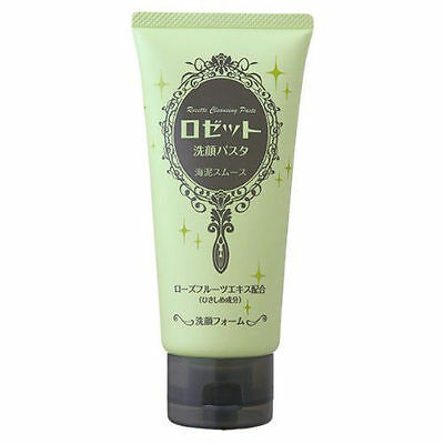 Rosette Additive-free Face Wash Sea mud mousse Pore tightening 120g From JAPAN