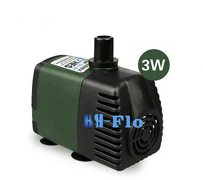 220V,450L/H Submersible Pump Aquarium Fish Tank Fountain Water Hydroponic