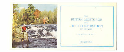 Ink Blotter British Mortgage Trust Corporation of Ontario Stratford Fisherman