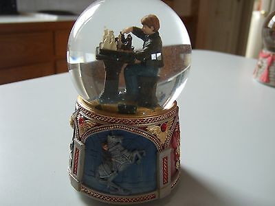 Ron Weasley Harry Potter and The Sorcerer's Stone Water Globe NIB SF Music Box