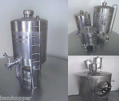2 liters stainless steel inox container barrel moonshineI wine spirits oil