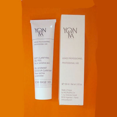 YONKA GOMMAGE 305 DRY or SENSITIVE SKIN 3.52 OZ / 100 ML SALON PROFESSIONAL SIZE