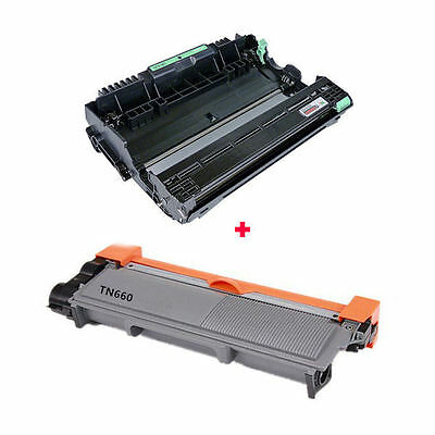 TN660 (TN630) + DR630 Toner + Drum for Brother DCP-L2520 DCP-L2540