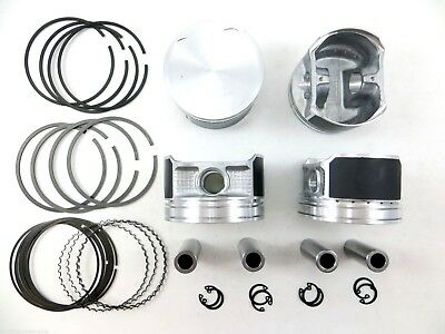 02-06 2.4L Accord Element Upgraded Piston//Ring Kit 07-09 CR-V TSX K24 .25mm