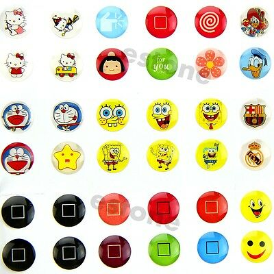 Hot Mixed Home Button Sticker Protector for iPhone iPad 1/ 2 iTouch 330PCS