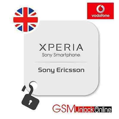 Uk Vodafone Sony Xperia Z Z1 Z2 Z3 Compact Ultra All Sony Models Unlock Code