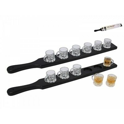 1pce 57cm Tray with 6pce 4cm Party Shot Glasses, Entertaining, Parties