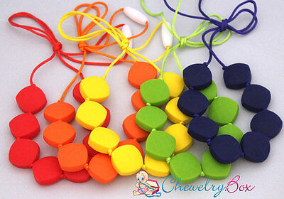 Kristina Necklace Chewelry Box Silicone Nursing Mom Chew Teething Mother Beads
