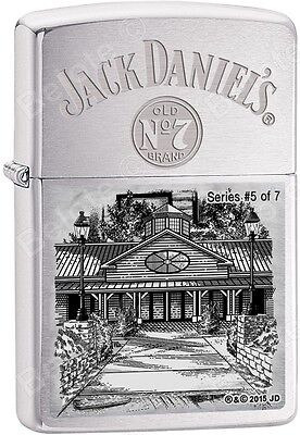 Zippo Limited Edition Jack Daniel's Lynchburg Series 5  Windproof Lighter 28894