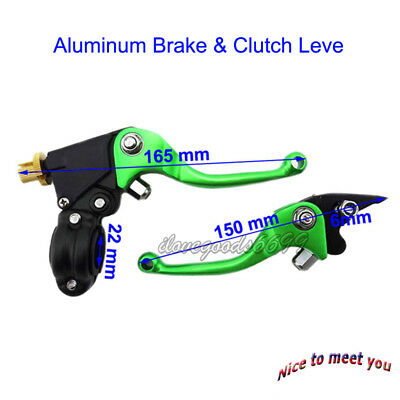 Folding Brake Clutch Levers For Chinese TTR CRF70 KLX110 Pit Dirt Bikes  Motor