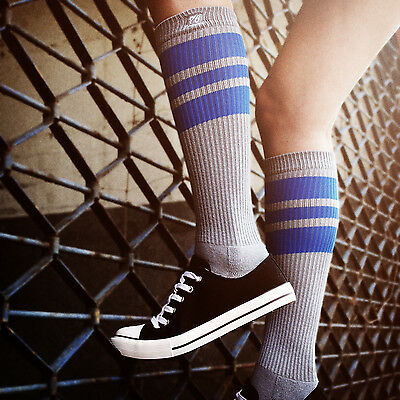 Oldschoolsocks by Spirit of 76 | the royal Royals on grey Hi | Skatersocks