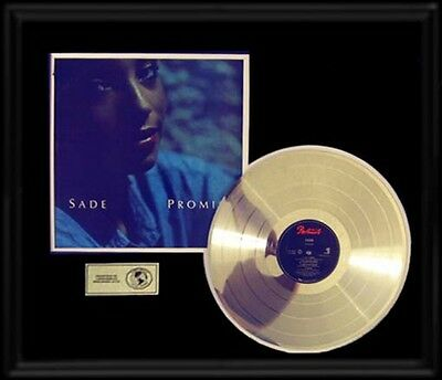 Sade Promise  Rare Gold Record Platinum  Disc Lp Album Frame