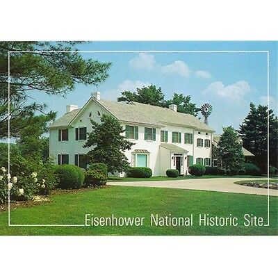 Eisenhower National Historic Site Postcard New