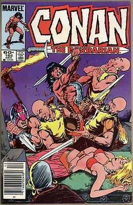 Conan The Barbarian #165 - VF+