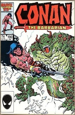 Conan The Barbarian #190 - VF