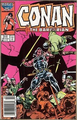 Conan The Barbarian #191 - VG