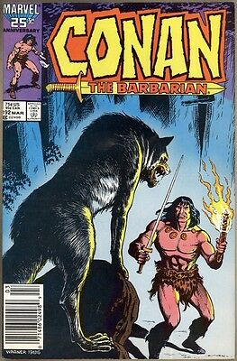 Conan The Barbarian #192 - VG/FN