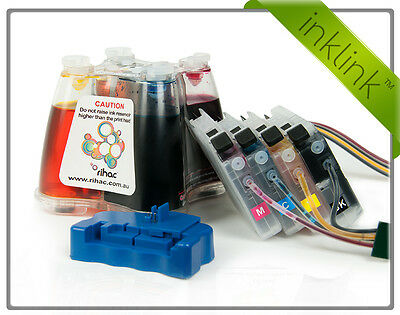 Rihac CISS for Brother Printer using LC203 MFC-J4420 MFC-J4620 MFC-J5620 Ink