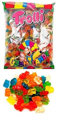 Trolli Gummi Bears 2kg Bag Candy Buffet Gummy Bear Lollies Sweets Party Favors