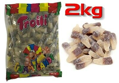 Trolli Sour Cola Bottles 2kg Bag Party Favors Candy Buffet Gummy Jelly Lollies