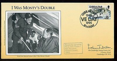 1995 'I was Monty's Double' Fiim Cover signed John Tolson 601 Squadron