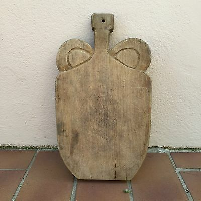 Antique Vintage French Bread Or Chopping Cutting Board  Wood 158