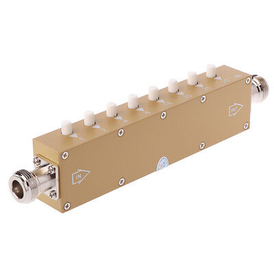 Adjustable Variable Attenuator N 5W 0-90dBi DC-2.5GHZ 50ohm RF Coaxial 8-key BYH