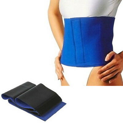 Slimming Exercise Waist Sweat Belt Wrap Fat Burner Body Leg Neoprene Cellulite