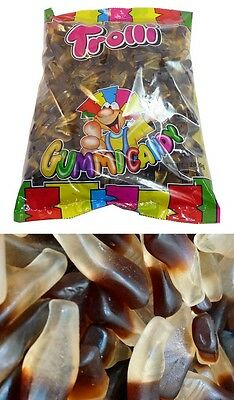 Trolli Oiled Cola Bottles 2kg Bag Candy Buffet Gummy Lollies Sweets Party Favors
